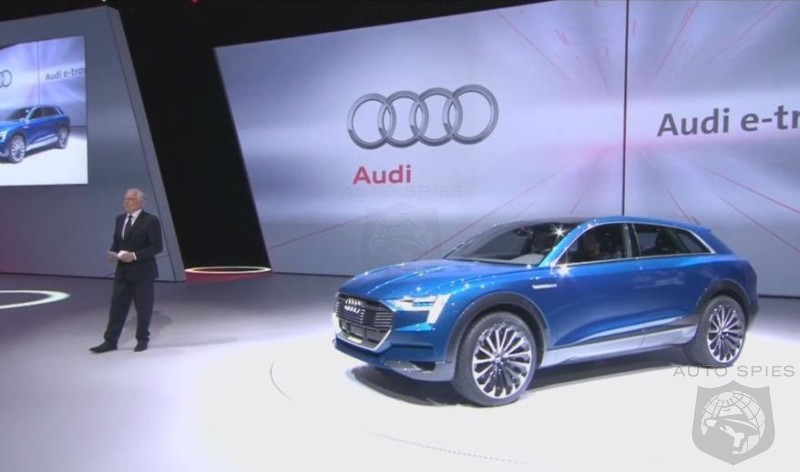 Audi Claims EVs Will Become A Must Have - How Long Will That Take?