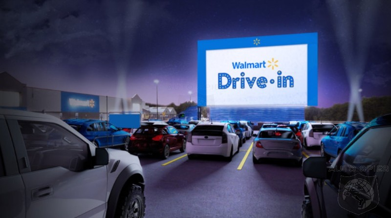 Walmart To Turn 160 Parking Lots Into Drive In Theaters