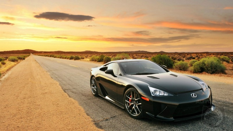 There Are STILL 12 Brand New 2012 Lexus LFA Super Cars In Inventory