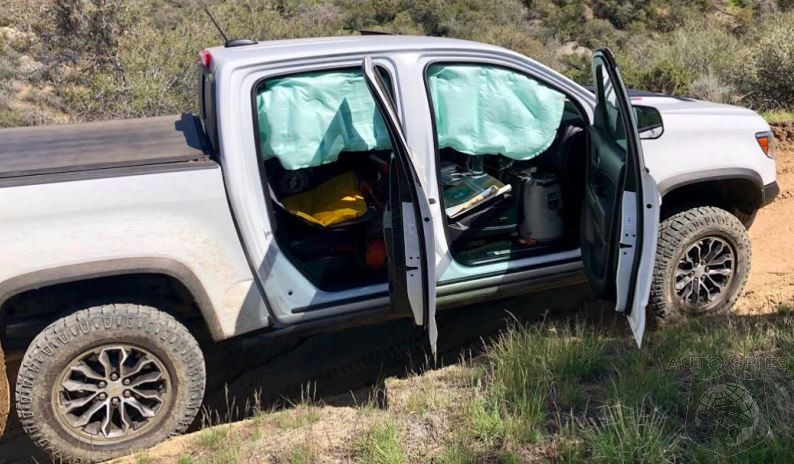 Chevrolet Colorado Side Curtain Aitbags Seem To Have An Issue With Off Roading
