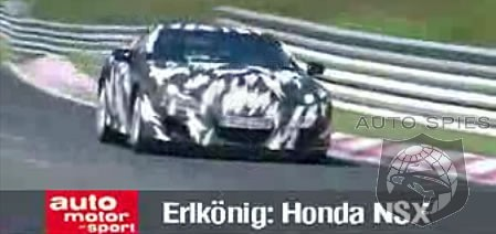 2010 acura nsx at nurburgring 550hp v10 promise return of super