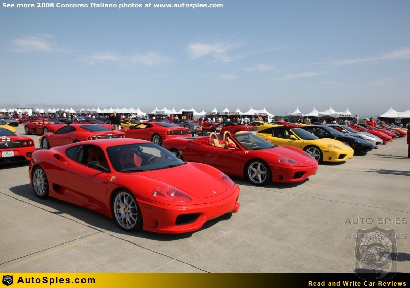 Agent 001 is Live at the Concorso Italiano: Italian Cars and