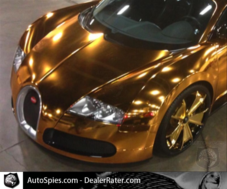 rapper flo-rida gets his formerly chrome bugatti veyron wrapped in