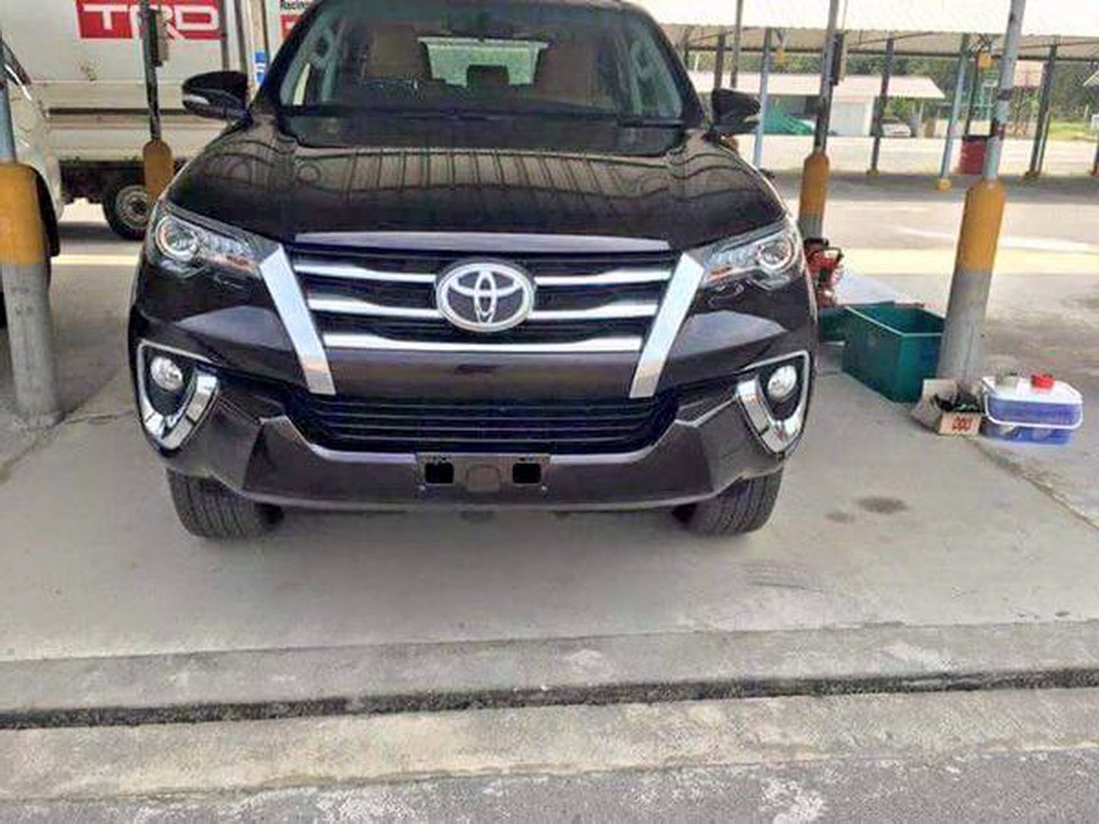 SPIED pletely Unwrapped This Is The All New Toyota Fortuner