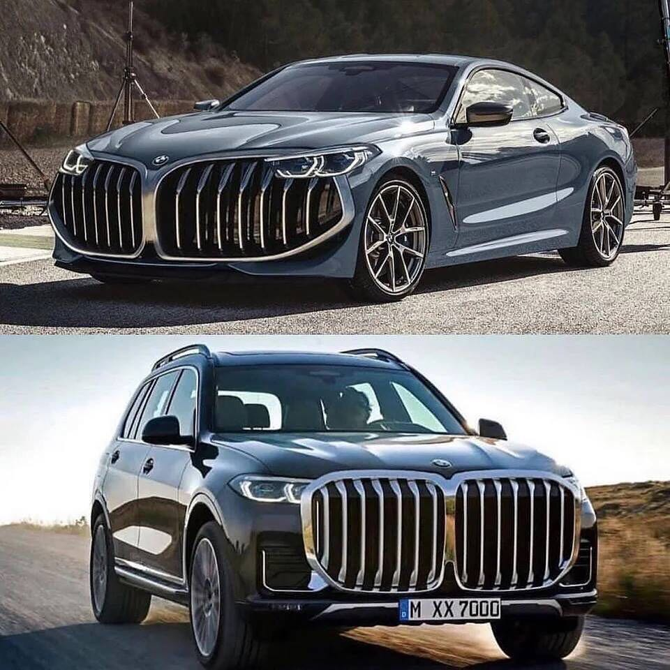Bmw X7 M Series: SPIED! Next-gen Design Language For Future BMWs Spotted On
