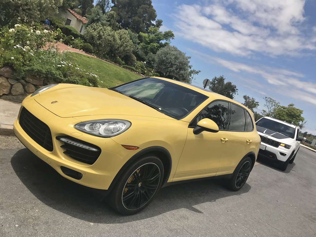 Can You Think Of A Worse Color For The Porsche Cayenne