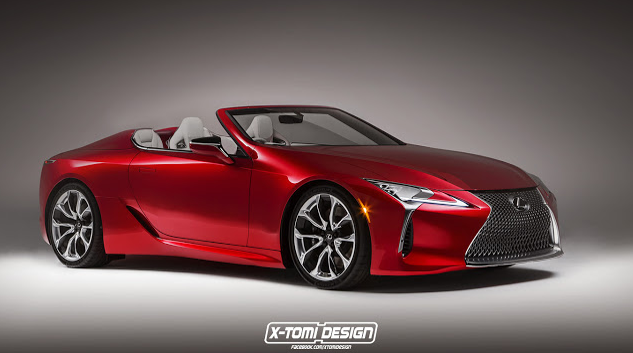 RUMOR + RENDERED SPECULATION: A Lexus LC Convertible *MAY* Be On The
