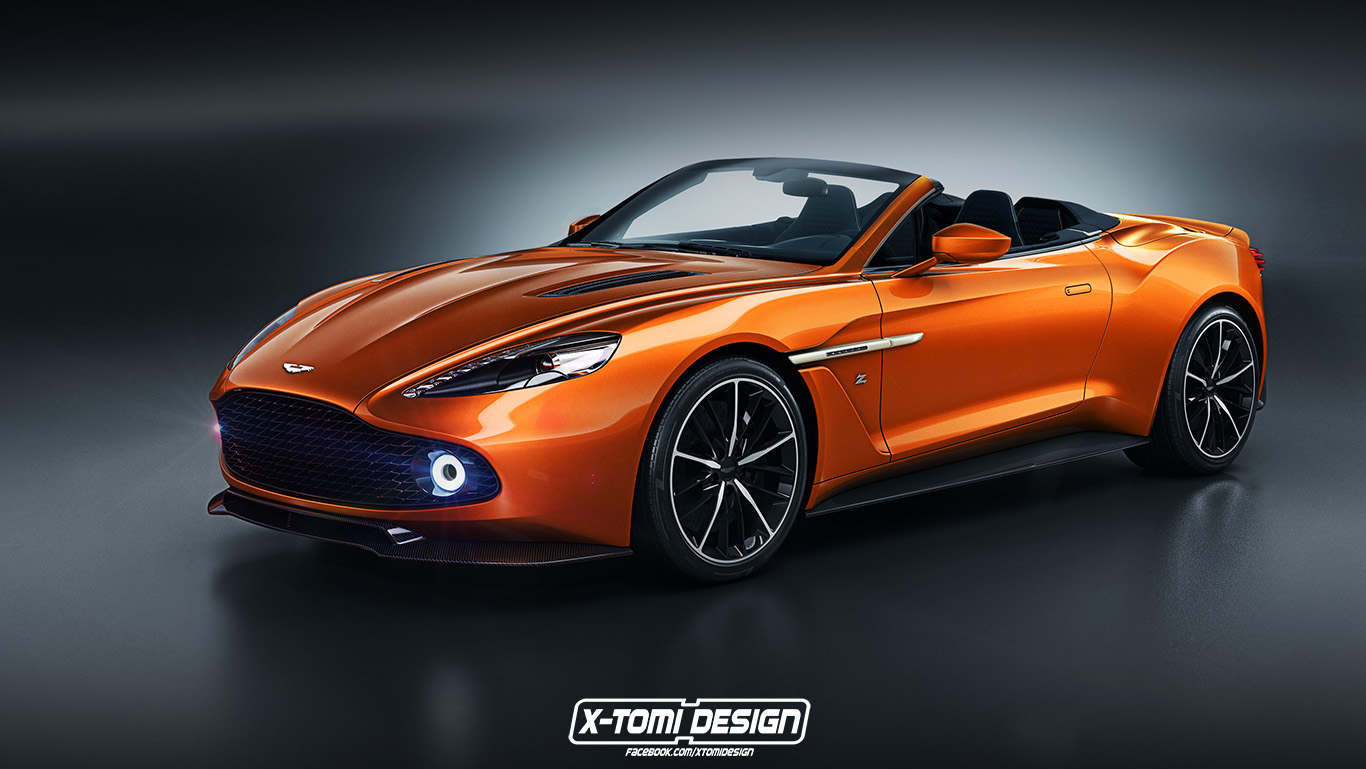 RENDERED SPECULATION How Do YOU Like Me NOW Aston Martin Zagato - Aston martin near me