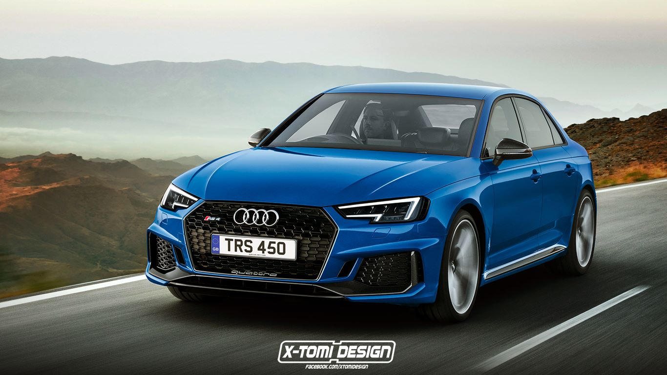 RENDERED SPECULATION IF Audi Were To Build An RS4 Sedan