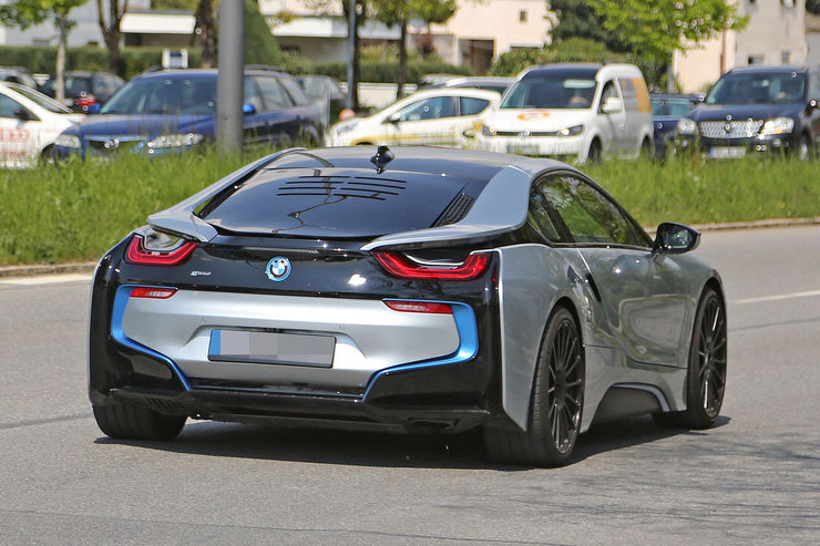 Spied First Spy Shots Of The Refreshed Bmw I8 Coming Soon To An