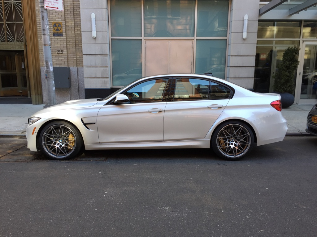 Spied On The Street First Real World Pics Of The Bmw M3