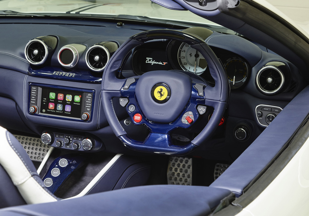 Is This The Future Of Supercar Interiors Ferrari Introduces All New