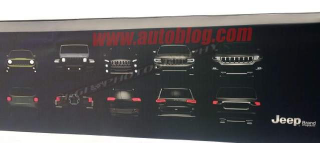 2018 Jeep Grand Wagoneer >> Leaked First Glimpse At The All New 2018 Jeep Wrangler And