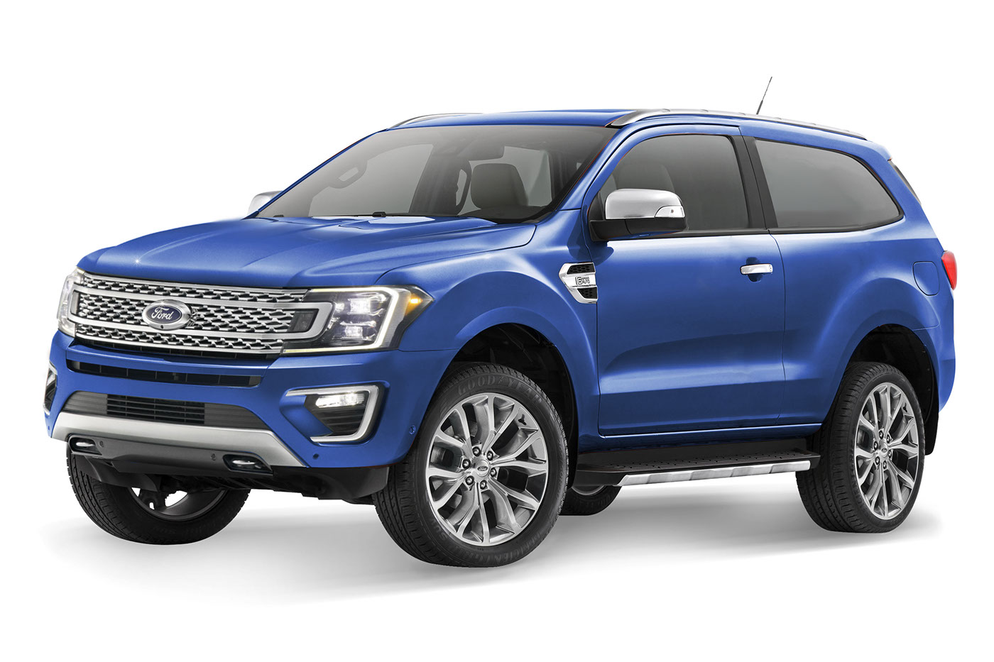 RENDERED SPECULATION: IF The All-new Ford Bronco Looks ...