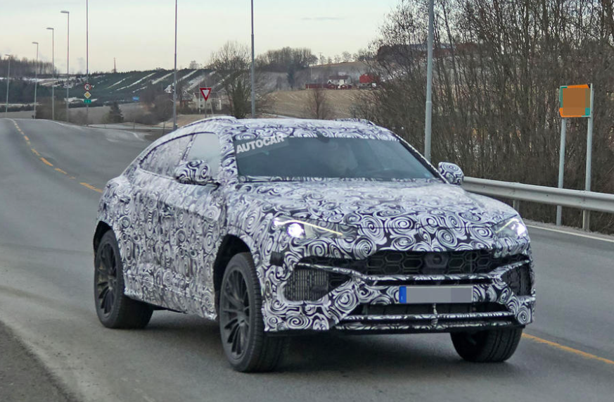 Spied The Lamborghini Urus Gets Seen In Its Production Body For The
