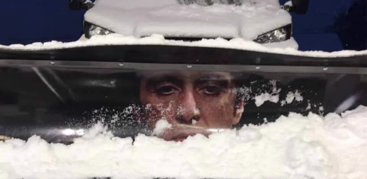 weird and wonderful is this the funniest snowplow decoration ever autospies auto news auto spies