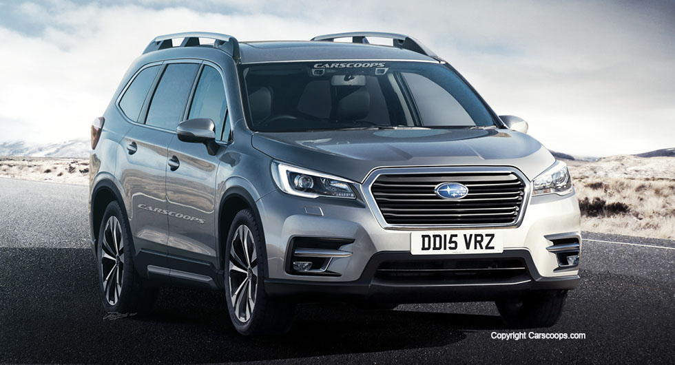 rendered speculation if the subaru ascent looks like this in