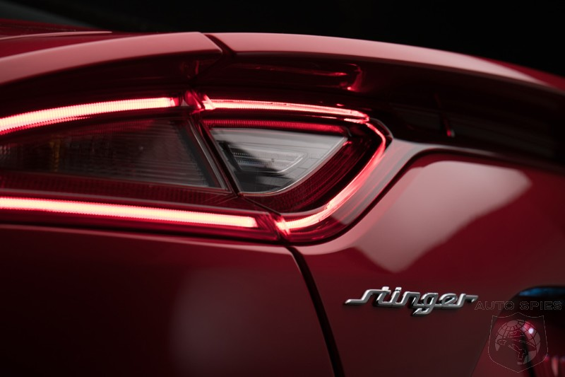#NAIAS: Kia Sets Out To HURT The Germans With The All-New Stinger — RWD, 360+ HP And MUCH More