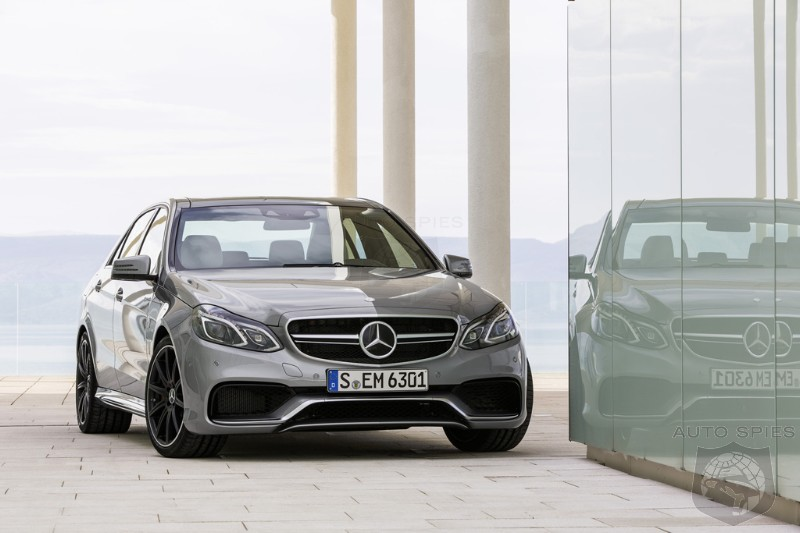 DETROIT AUTO SHOW PREVIEW: Mercedes-Benz's E63 AMG To Perform At The Top Of Its Class, There's Just ONE Issue...