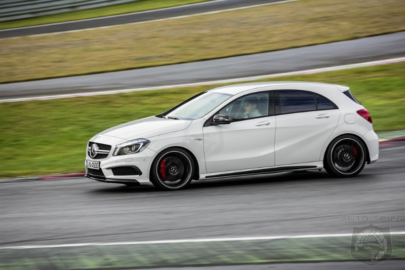 VIDEO: Mercedes' A45 AMG Caught WHISTLING In ACTION