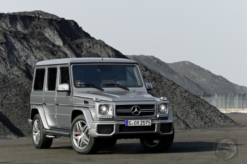 VIDEO: Really? Could A G-Wagon REALLY Do This OR Is This Merely A Stunt?