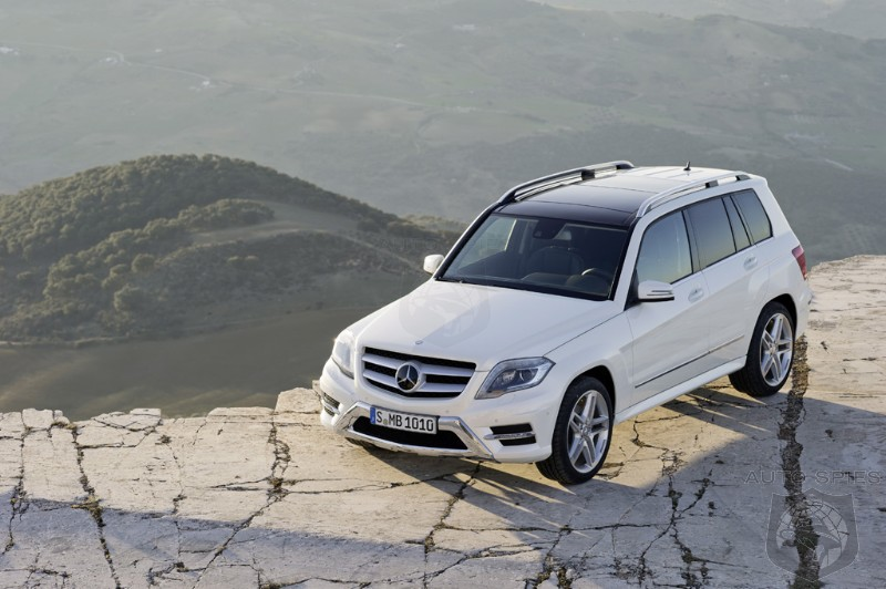 NEW YORK AUTO SHOW: Car Wars! How Will Mercedes' Updated GLK Fair Out Against The All-New BMW X3?
