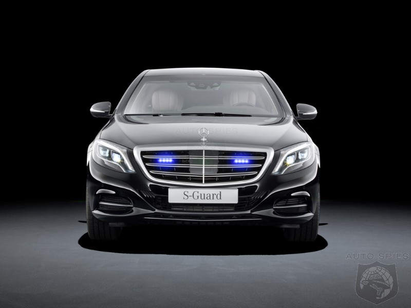 If You've Made Enemies Along YOUR Way, Then You May Want To Pick Up A Mercedes-Benz S600 Guard