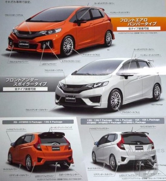 Body Kit R S Performance Édition Limitée: LEAKED! 2014 Honda Fit MUGEN Gets Unveiled Early