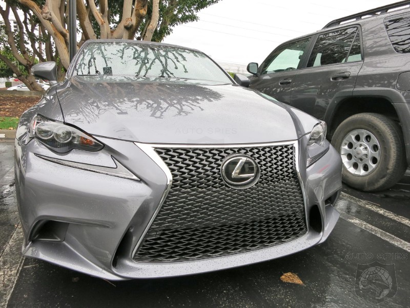 EXCLUSIVE! Agents Catch NEW 2014 Lexus IS On The Road For The FIRST Time! Does It Have Street Cred NOW?