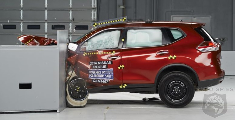 2014 Nissan Rogue Walks Away With GREAT Safety Review U2014 IIHS Top Pick+