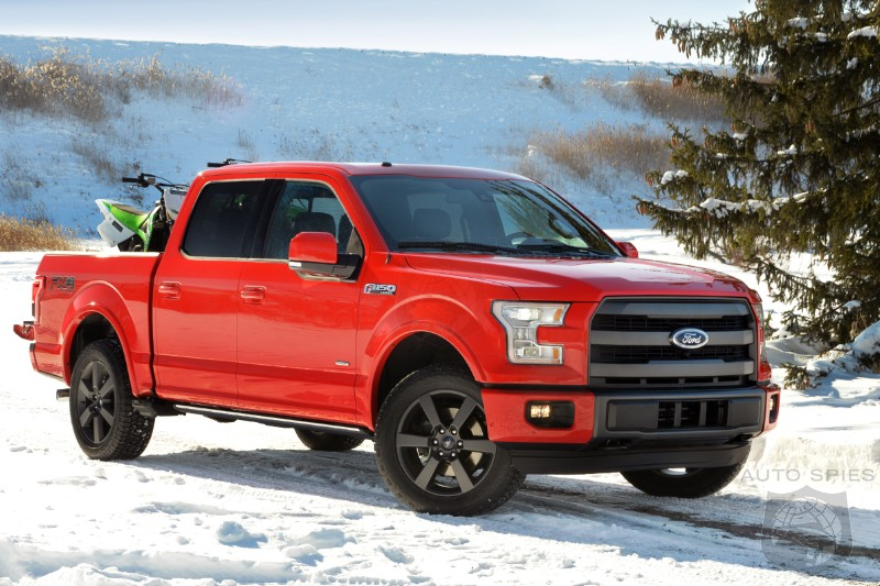 DETROIT AUTO SHOW: VIDEO! FIRST Clip Of The All-New 2015 Ford F-150 In ACTION