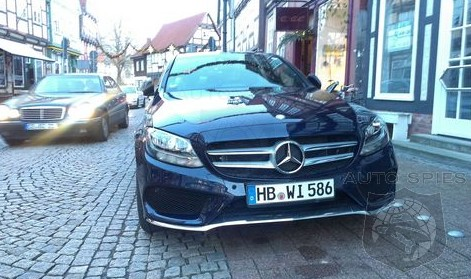 SPIED: FIRST Real-Life Photos Of The All-New, 2015 Mercedes-Benz C-Class ON THE STREET