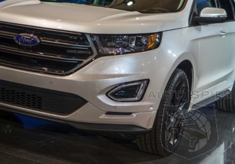 OFFICIAL! FULL Details And FIRST REAL-LIFE Pictures Of The 2015 Ford Edge!