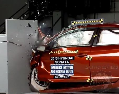 VIDEO: This Is What It Looks Like When You CRASH A 2015 Hyundai Sonata — GOOD News! It's A Top Safety Pick+!