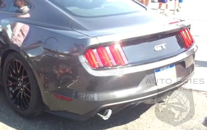 VIDEO: SEEN + HEARD! 2015 Ford Mustang GT Clears Its Throat