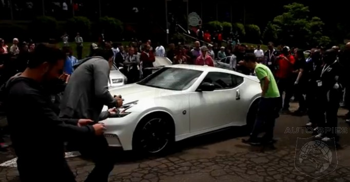 VIDEO: Nissan's Latest NISMO Car Makes Its Debut Among The People