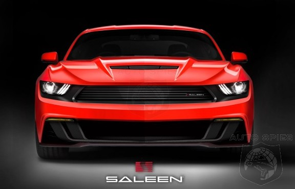 Just As American As Apple Pie And An AR-15 — Saleen TEASES Its 2015 S302 Mustang