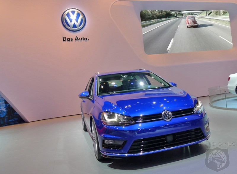 NEW YORK AUTO SHOW: STUD or DUD — Volkswagen Brings Us A SOUPED UP Sportwagen, Would It Get YOUR Hard Earned $$$?