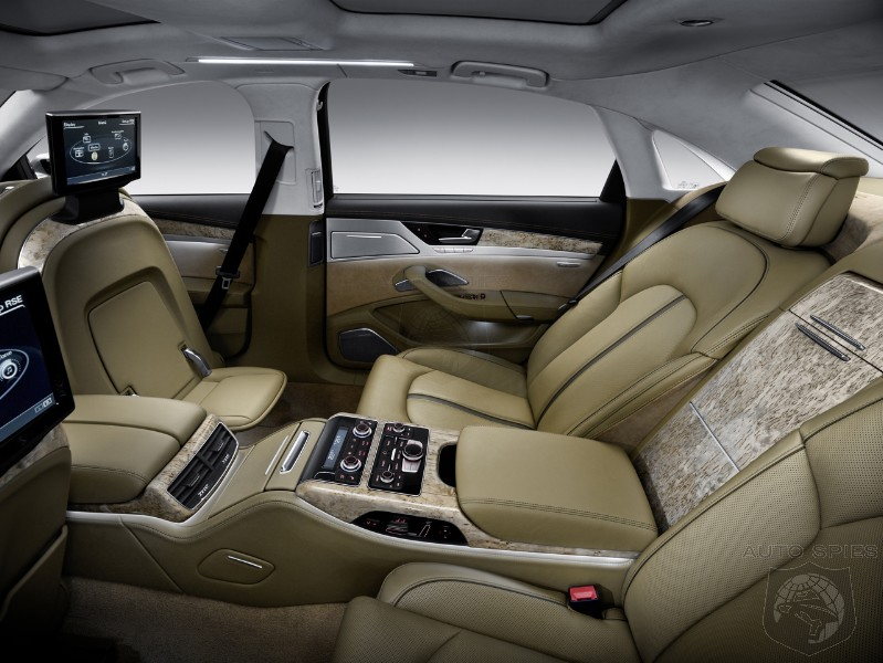 San Diego Audi >> PHOTO GALLERY: Move Over Lexus. 2011 Audi A8 Now Has The Back Seat Of Dreams - AutoSpies Auto News