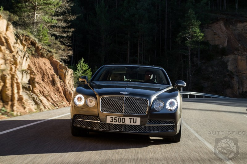 VIDEO: FIRST Driving Footage Of The 2014 Bentley Flying Spur