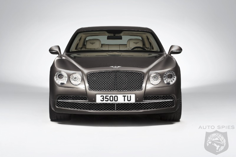 The 2014 Bentley Flying Spur Gets An All-New Look — If YOU Had To Pick, Bentley Or Rolls?
