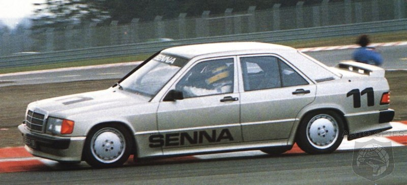 video ayrton senna 39 s mercedes benz 190e 2 3 16 remembering a watershed moment in time. Black Bedroom Furniture Sets. Home Design Ideas