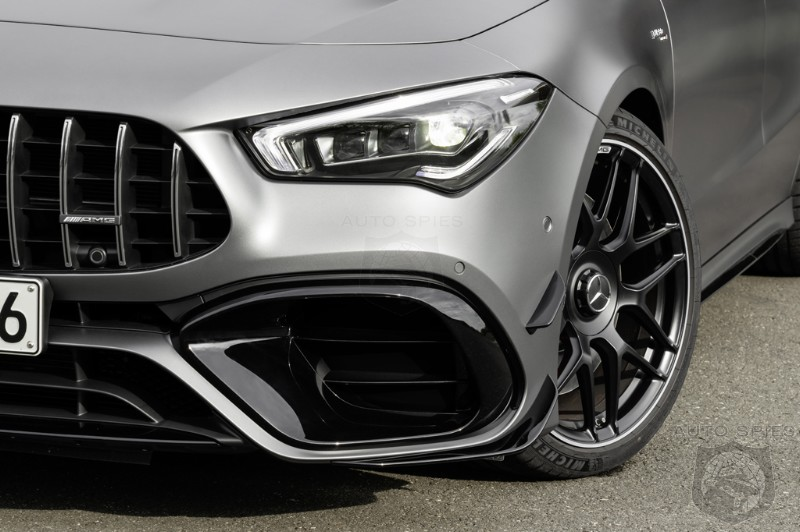 The Entry-level Mercedes-AMG Appears For The FIRST Time, We Introduce You To The All-new CLA 45