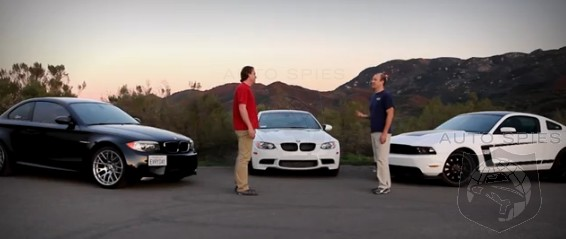 CAR WARS! BMW E92 M3 vs. BMW 1M vs. Ford Mustang BOSS 302