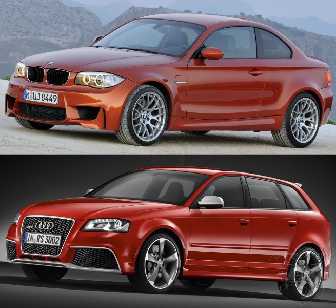 HEAD-To-HEAD, Audi And BMW's Little Giants Square Off