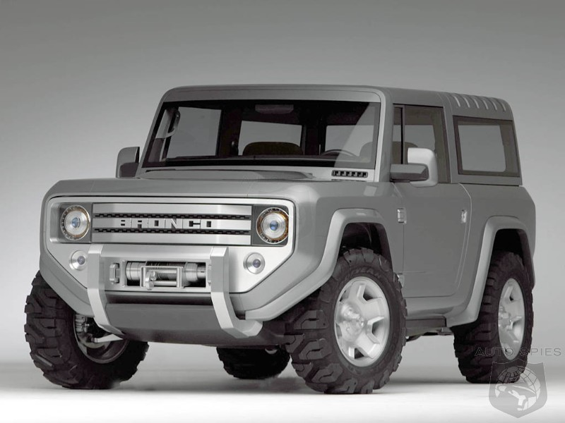 Does Ford Need A WRANGLER Competitor? Is It Time To Resurrect The BRONCO?
