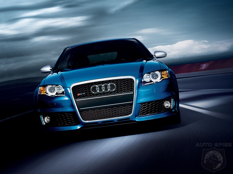 Well, It Worked For The Audi TT RS, Didn't It? NEW Petition For An RS4