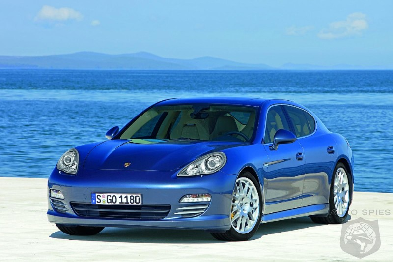 Porsche's Panamera To Get EXTENDED