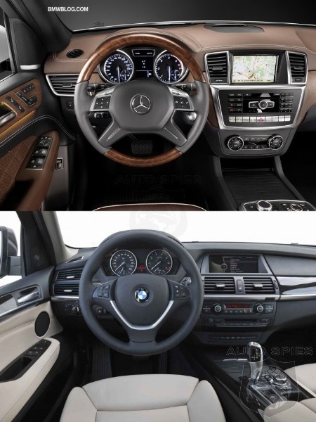 SHOWDOWN: 2012 Mercedes Benz M Class Vs. 2011 BMW X5    Has The M Class  Unseated The Xu0027s Looks?