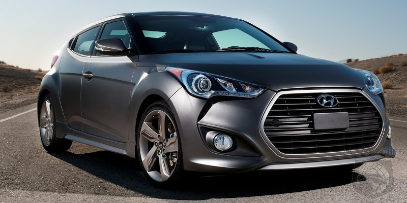 CHICAGO AUTO SHOW: Hyundai's Adding SOMETHING To The Veloster Nameplate — WHAT Could It Be?